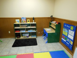 Preschool Puzzles/Games/Writing Center